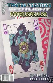 Transformers Spotlight Doubledealer Cover B (2008) IDW Publishing comic book